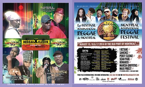 reggaexclusive magazine June 2014