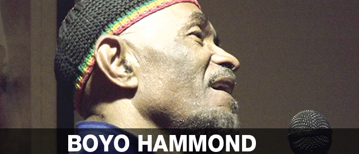 BOYO HAMMOND – Reggae Singer