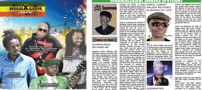 Winter 2016 Issue Online Reggaexclusive Magazine Canada