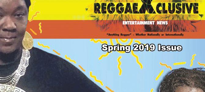 Spring 2019 ReggaeXclusive Magazine