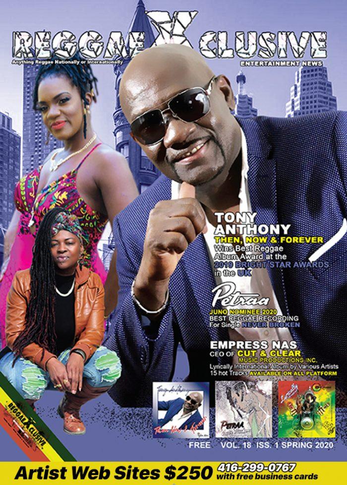 Spring 2020 Reggaexclusive Magazine Canada